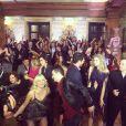Os ex-participantes do 'Dança dos Famosos' na gravação da nova vinheta