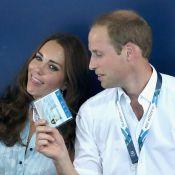 Kate Middleton e príncipe William são vistos em momento de descontração