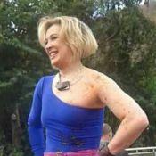 Claudia Raia aparece com marcas de sangue nas primeiras cenas de 'Alto Astral'