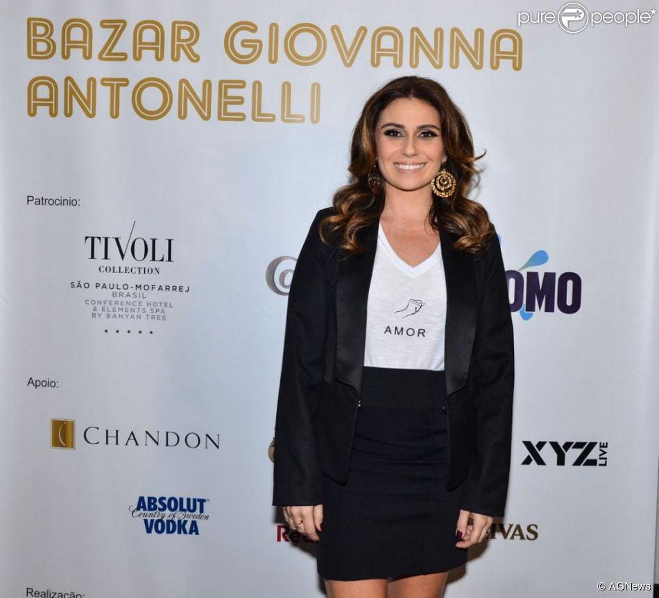 48b8d11d9 Bazar de Giovanna Antonelli vai leiloar saia de Ivete Sangalo e camisa de  Neymar