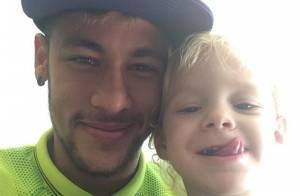 Neymar ainda não sabe se virá ao Brasil para o aniversário do filho, Davi Lucca