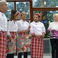 Ana Maria Braga deu início nesta segunda-feira, 11 de agosto de 2014, a mais uma disputa no quadro 'Super Chef Celebridades'. Através de um sorteio, a apresentadora do 'Mais Você' dividiu os participantes em dois grupos