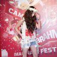 Megan Fox foi a atração do camarote da Brahma