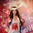Megan Fox curtiu o camarote da Brahma no Rio