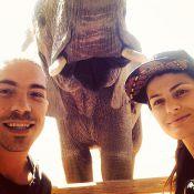Isabelli Fontana e Di Ferrero curtem férias na África do Sul: 'Inesquecível'