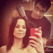 Vanessa Gerbelli, do 'Dança dos Famosos', corta os cabelos: 'Mais bonita'