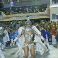 Bruna Bruno há nove anos é rainha de bateria da União da Ilha