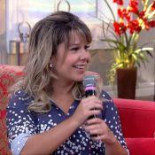 Fernanda Souza se recusa a comer bucho no 'Encontro': 'Nem por cachê eu provo'