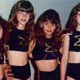 Quando criança, a über model se vestia como as assistentes de palco da Xuxa para brincar com as amigas