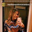 Marília Mendonça contou que iniciou uma dieta mais adaptada