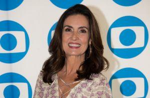 Fátima Bernardes é elogiada por beleza na TV e entrega motivo: 'É o amor'