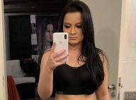 Maraisa, de top, exibe barriga sequinha e ganha elogio de fãs: 'Corpo mara'