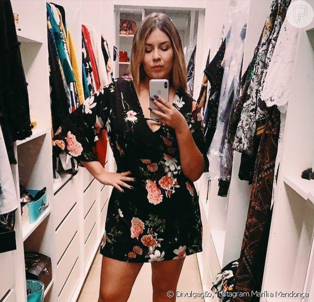 Marília Mendonça, 20 kg mais magra, mostra closet e vestido curtinho chama  a atenção - Purepeople