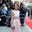 Pippa Middleton exibiu suas curvas em um vestido bem elegante