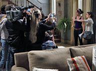 Novela 'Império': Cora revela a jornalistas que Cristina é filha do Comendador
