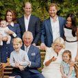 O príncipe Louis é o filho caçula de Kate Middleton e do príncipe William
