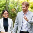 O príncipe Harry e a mulher, Meghan Markle, estão esperando o primeiro filho. Ela planeja recorrer à auto-hipnose