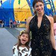 Grazi Massafera incentiva a filha, Sofia, a passar mais tempo no interior
