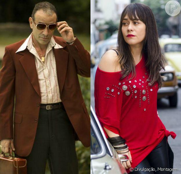 Na novela 'Boogie Oogie', Fernando (Marco Ricca) vai seduzir Susana (Alessandra Negrini) para que ela não conte nada sobre a troca de bebês