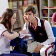 "Nos próximos capítulos da novela 'As Aventuras de Poliana', Luca Tuber (João Guilherme) elegerá Raquel  (Isabella Moreira)  como a ""menina da vez"""