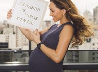 Pronta pra dar à luz! Sabrina Sato completa 40 semanas de gravidez: 'Vem, Zoe'