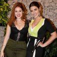 Ana Clara Lima e Vivian Amorim prestigiaram pocket show de Ivete Sangalo