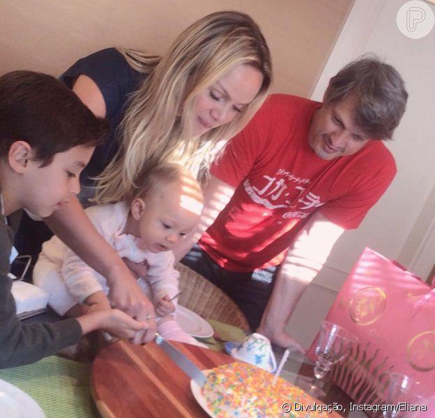 Em família! Eliana celebra aniversário com filhos e noivo nesta quinta-feira, dia 22 de novembro de 2018