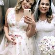 Marília Mendonça cantou no casamento da mãe,  Ruth Moreira