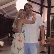 Eliana celebra aniversário em viagem com o noivo a Alagoas: 'Noite mágica'
