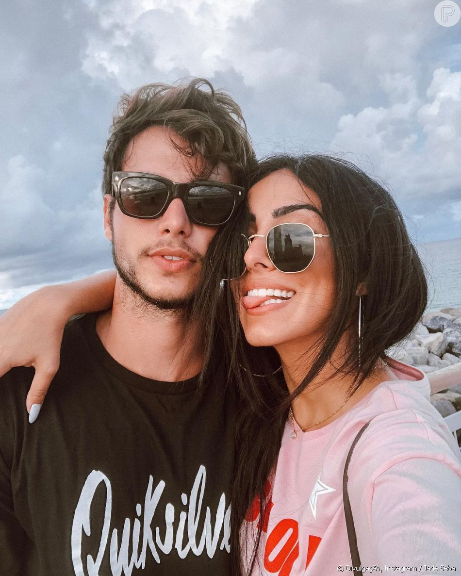 Jade Seba está grávida do primeiro filho com Bruno Guedes