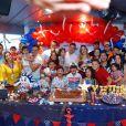 Wesley Safadão organizou uma festa surpresa para Yhudy