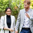 Príncipe Harry quer que o filho com Meghan Markle cresça longe do 'aquário' da família real