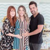 Luma Costa recebe Marina Ruy Barbosa em chá de bebê do 2º filho, Eduardo. Foto!