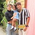 Deborah Seco e Hugo Moura comemoraram 3 anos da filha, Maria Flor