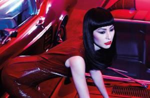 Sabrina Sato posa sexy com look ousado para capa de revista em ensaio fetichista