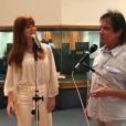 Marina Ruy Barbosa ensaiou com Roberto Carlos antes de cantar no Especial de Natal