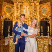Karina Bacchi mostra pela 1ª vez fotos do casamento religioso com Amaury Nunes