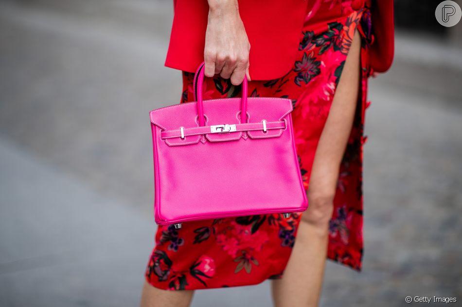 Essa é a bolsa mais famosa do mundo: Birkin Bag da grife Hermès