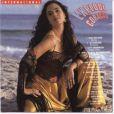 Tereza estampou a capa do LP com a trilha sonora de 'Explode Coração'