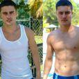 Guilherme Leicam mudou o seu corpo e depilou totalmente os pelos do corpo