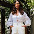 All white: o look todo branco e elegante já foi aposta de Juliana Paes