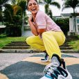 Na moda! O chunky sneaker também já foi usado pela atriz Juliana Paes