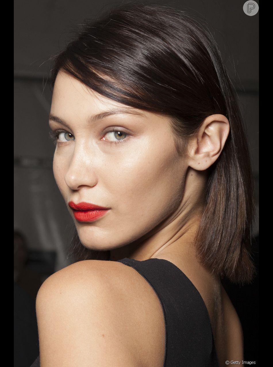 Red lips! O batom vibrante foi uma das inspirações de beleza mais procuradas do Pinterest em 2018