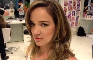 Adriana Birolli fica loira e muda o visual para novela 'Império': 'Nasce Amanda'