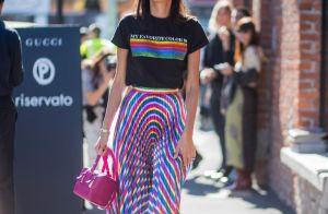 Trend de verão  as rainbow stripes vão conquistar você e o seu look! Veja  fotos! 885048514d0b2