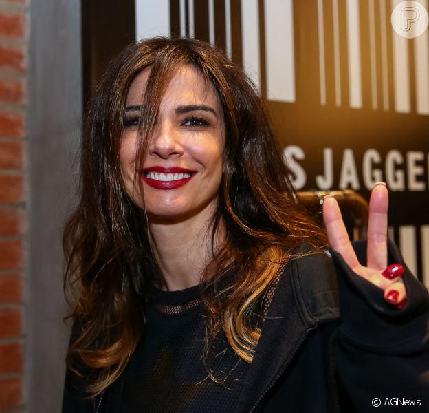 Luciana Gimenezganha jaqueta de couro do ex Mick Jagger