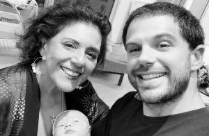 Duda Nagle parabeniza mãe por aniversário em foto com a filha, Zoe: 'Supervó'