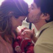 Patricia Abravanel publica foto com o filho, Pedro: 'Indo para casa'