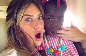 Giovanna Ewbank compartilha momento fofo de Títi com Bruno Gagliasso: 'Amores'