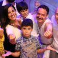Wanessa Camargo leva filhos para assistir ' Show Queen Lives Kids' em teatro no shopping da Gávea, zona sul do Rio de Janeiro, neste sábado, 19 de janeiro de 2019